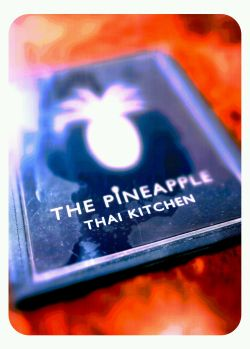 The Pineapple Thai Kitchen menu