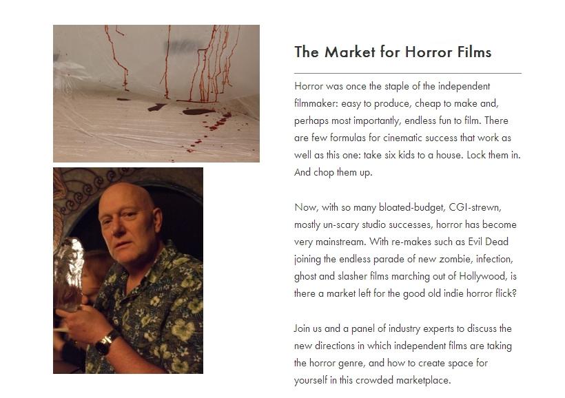 The Market For Horror Films screencapped